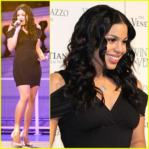 Jordin Sparks Opens Winter in Venice
