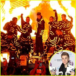 Justin Bieber: Big Winner at MTV EMAs!