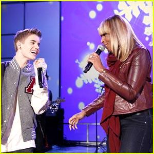Justin Bieber: 'Fa La La' Video with Boyz II Men!