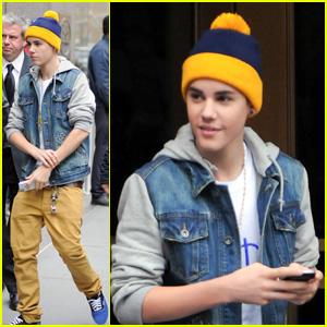 Justin Bieber: Morning Show Man