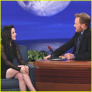 Kristen Stewart: Conan Cutie