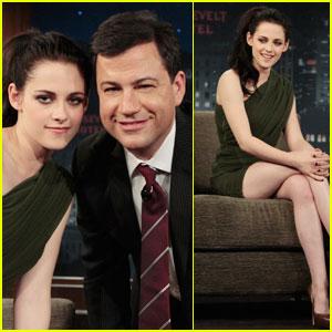 Kristen Stewart: Jimmy Kimmel Live!