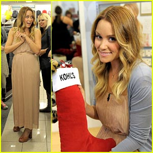 Lauren Conrad: Kohl's Shopping Spree