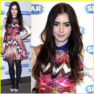 Lily Collins: 'Seminar' Opening Night