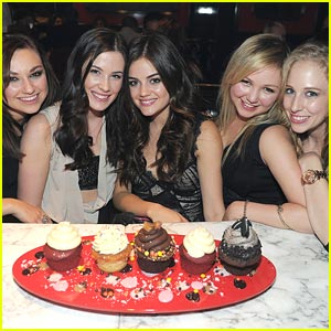 Lucy Hale: Sugar Factory Sweetie