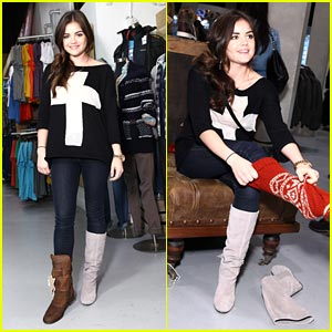 Lucy Hale: Superdry Shopper!
