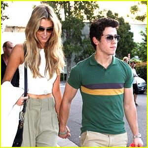 Nick Jonas & Delta Goodrem: Sydney Sweeties