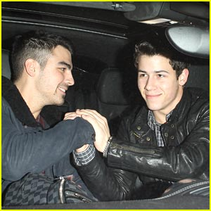 Nick Jonas Picks Up Joe at LAX