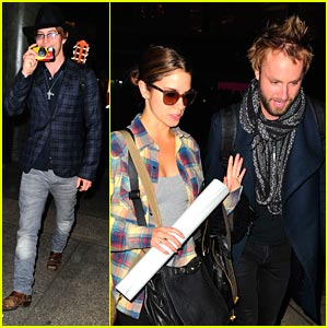 Nikki Reed &#038; Jackson Rathbone: LAX Landing