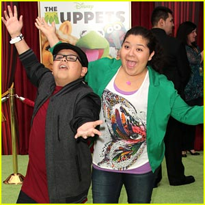 Rico Rodriguez: 'The Muppets' with Raini!