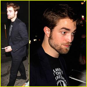 Robert Pattinson Leaves 'Jimmy Kimmel Live!'