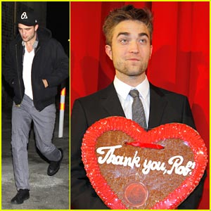 Robert Pattinson: Bite To Eat at Bocca di Bacco