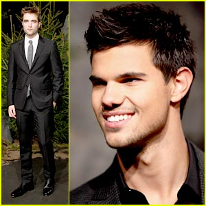 Robert Pattinson & Taylor Lautner: Berlin's 'Breaking Dawn'