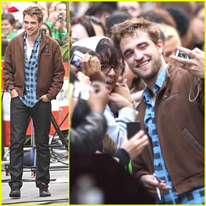 Robert Pattinson: The Today Show Stop!