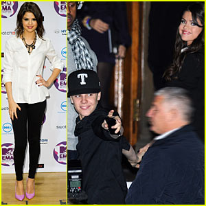 Justin Bieber & Selena Gomez: Merchant Hotel Mates!