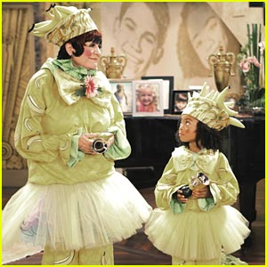 Skai Jackson Goes 'Bananas' with Jo Anne Worley
