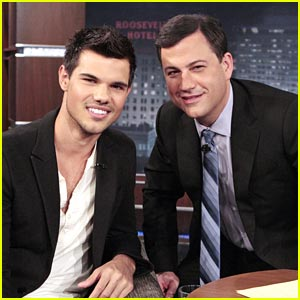 Taylor Lautner: Jimmy Kimmel Live!