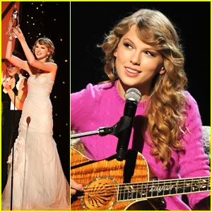 Taylor Swift: CMA's Entertainer of the Year!