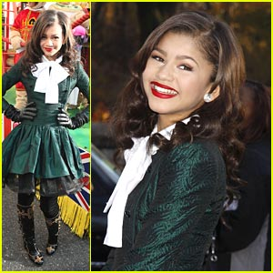 Zendaya: Macy's Thanksgiving Day Parade!