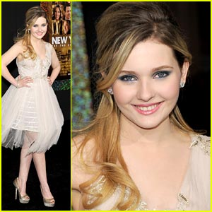 Abigail Breslin: Happy New Year's Eve!