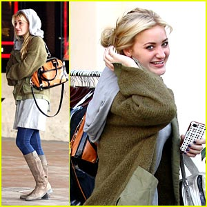 AJ Michalka: Movies After Happy Madison Party