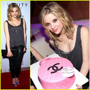 Ashley Benson: Birthday Bash at Hard Rock Hotel!