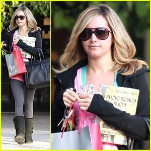 Ashley Tisdale: Salon Stop!