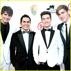 big time rush national tree lighting - Big Time Rush Christmas