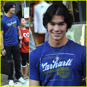 Booboo Stewart: The Grove After Christmas
