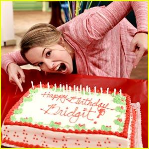 Bridgit Mendler: Birthday on GLC Set!