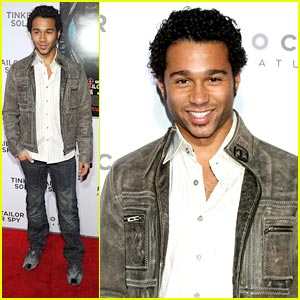 Corbin Bleu: 'Tinker, Tailor, Soldier, Spy' Premiere