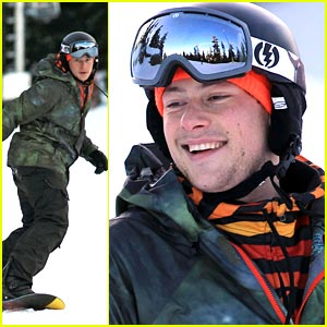 Cory Monteith: Snowboarding on Cypress Mountain