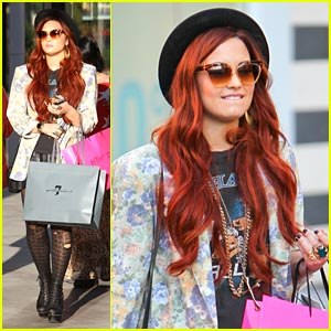 Demi Lovato: Century City Shopper