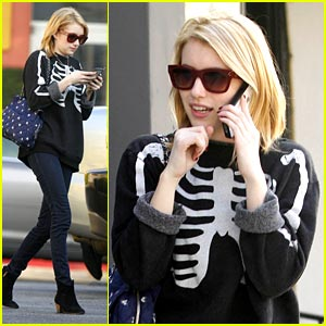 Emma Roberts Misses Christmas