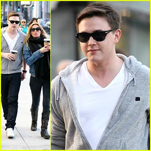 Jesse McCartney: Hermes Holiday Shopping