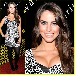 Jessica Lowndes: Charity:Ball Beauty