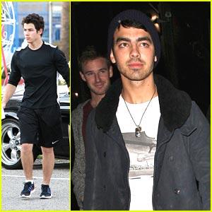 Joe Jonas: Katsuya with Nick Jonas!