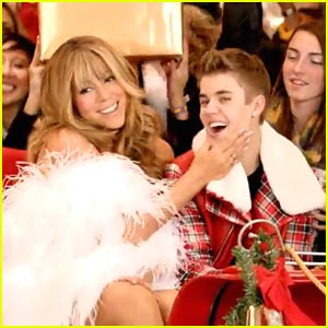 Justin Bieber  Music Videos on Justin Bieber     All I Want For Christmas Is You    Music Video