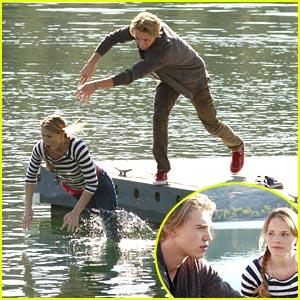 Austin Butler to Katie Leclerc: Into The Lake You Go
