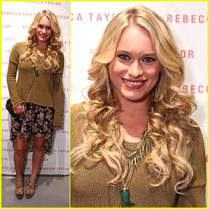 Leven Rambin: Rebecca Taylor Store Opening
