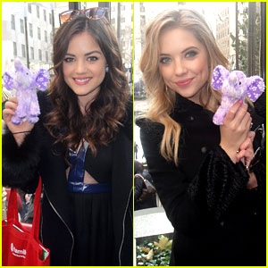 Lucy Hale & Ashley Benson: Pretty Little Elephants!
