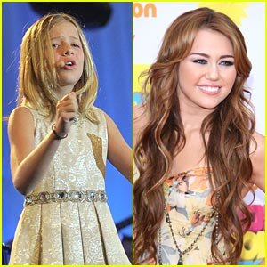 Miley Cyrus & Jackie Evancho: American Giving Awards Presenters!
