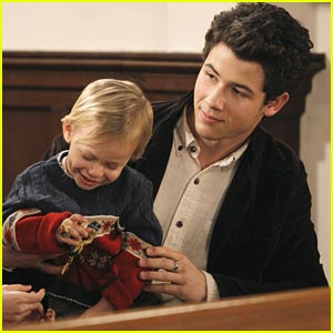 Nick Jonas on 'Last Man Standing' -- FIRST PICS!