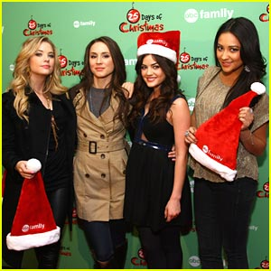 Lucy Hale & Troian Bellisario: Pretty Little Ice Skaters