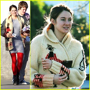 Shailene Woodley: Costco Christmas Shopping