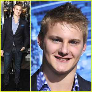 Alexander Ludwig: 'Man on a Ledge' Premiere
