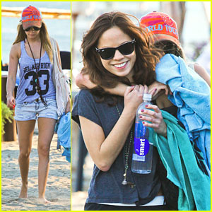 Ashley Tisdale & Kim Hidalgo: Paradise Cove Pair