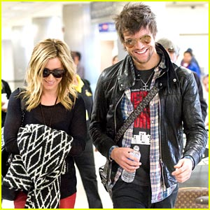 Ashley Tisdale: Back in LA with Martin Johnson