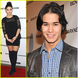 Booboo Stewart Goes 'Beneath The Darkness'