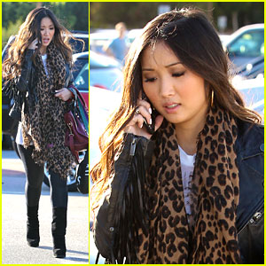 Brenda Song: Urban Outfitters Shopper